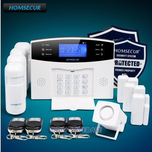 HOMSECUR Wireless&wired LCD GSM Home Security Alarm System RU Warehouse RU PromotionHOMSECUR Wireless&wired LCD GSM Home Security Alarm System RU Warehouse RU Promotion