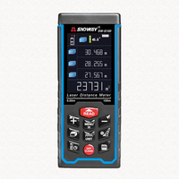 SNDWAY New Arrival Color Display Digital Rechargeable Laser Rangefinder Laser Distance Meter Measure Tools