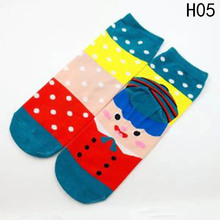 New Christmas Socks Women Cotton Socks Cute Santa Claus/Snowman/David's Deer Funny Printed Christmas Gift Hosiery