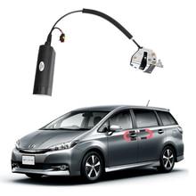 Новые для Toyota wish электрические всасывающие двери автомобиля переоборудованные автоматические замки автомобильные аксессуары интеллектуальная всасывающая дверь