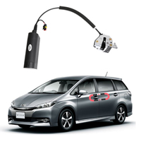 NEW for Toyota wish Electric suction door Automobile refitted automatic locks Car accessories Intelligence Suction door
