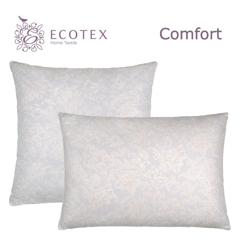 Pillow Rocco collection Comfort. Production company Ecotex(Russia). pillow fiber collection comfort production company ecotex russia