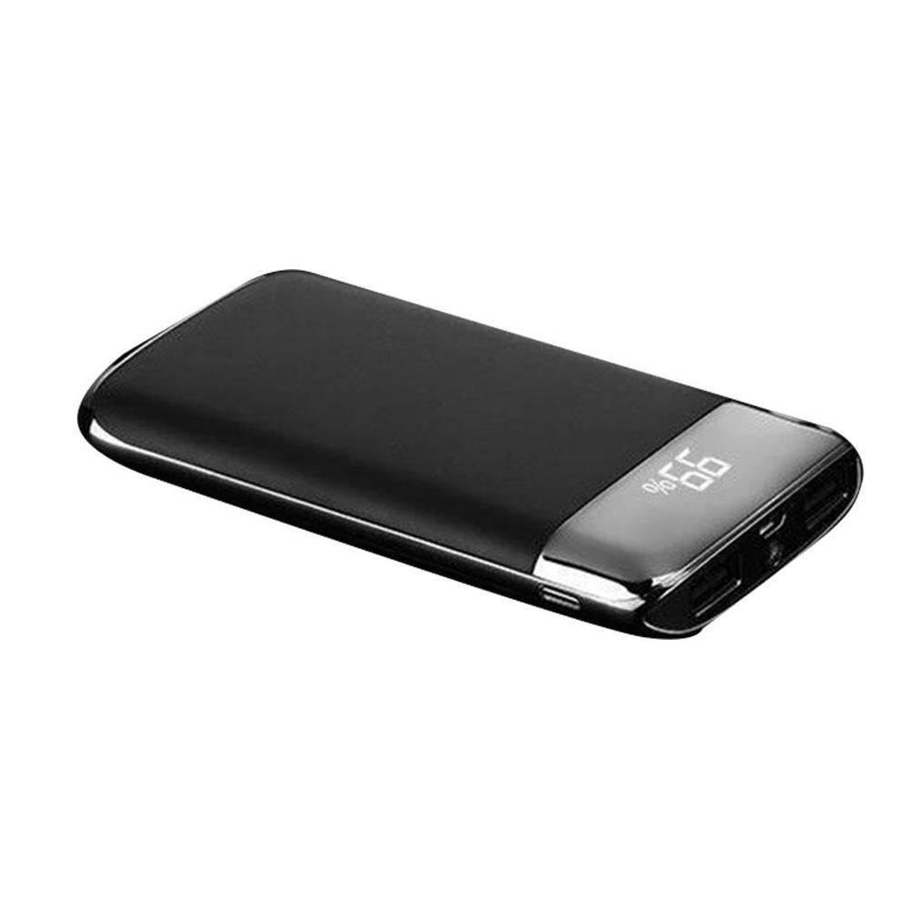 30000mah Power Bank External Battery PoverBank 2 USB LED Powerbank Portable Mobile phone Charger for Xiaomi iphone XS max 8 8plu usb battery bank charger