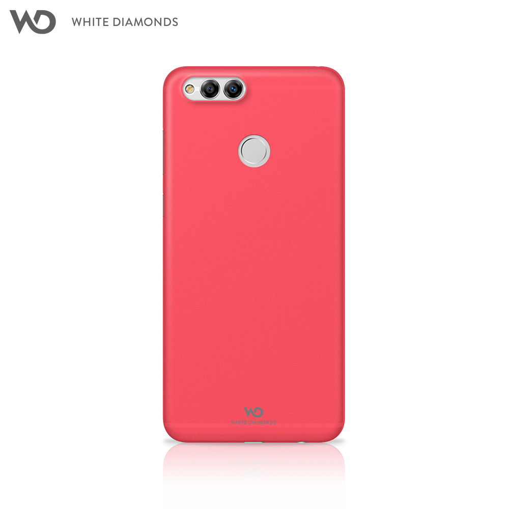 Case White Diamonds Ultra Thin Iced Case for Huawei Honor 7X color red