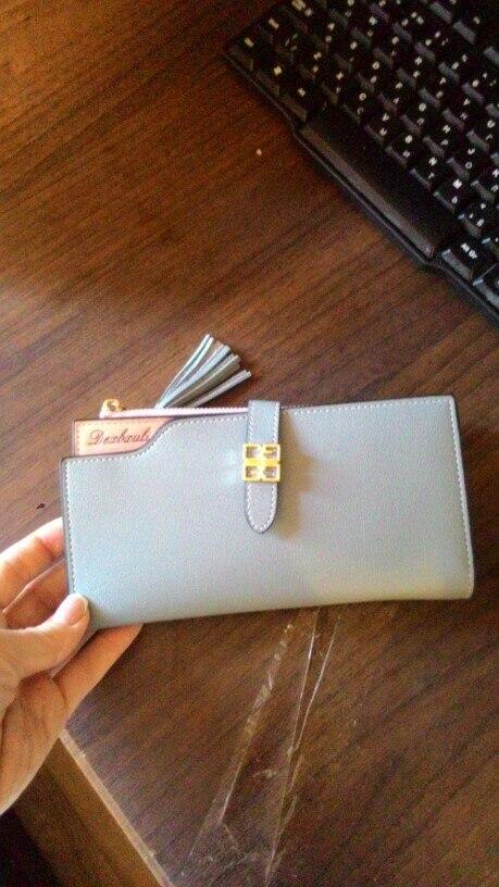 Fashion Matte Women Wallet Bag Ladies Casual PU Leather Hasp Zipper Short Wallets Female Bag Ladies Vintage Handbags 10Sep 13 photo review
