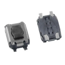 цена на UXCELL 50 Pcs Momentary Tactile Tact Push Button Switch 3 X 3.5 X 1.8Mm 4 Pin Smd Smt