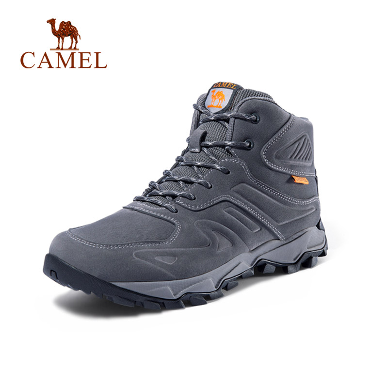 CAMEL Women High Top Hiking Shoes Winter Outdoor Walking Jogging Shoes Mountain Sport Boots Climbing Sneakers