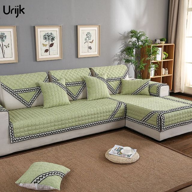 Urijk 1PC 9 Sizes Modern Sofa Cover Simple Design Sofa Backrest Towel  Furniture Cover Cotton Linen