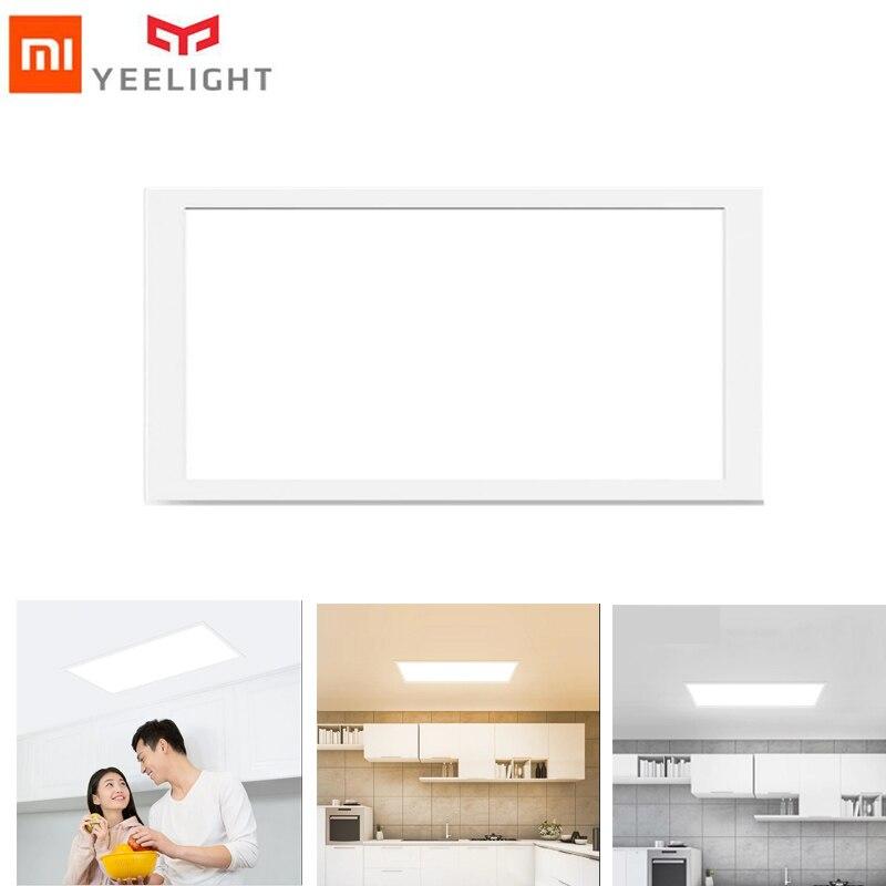 yeelight xiaomi 1800 lumens Ultra Thin Dustproof LED Panel Light Home  Bedroom Smart Ceiling Lamp Warm White/white color