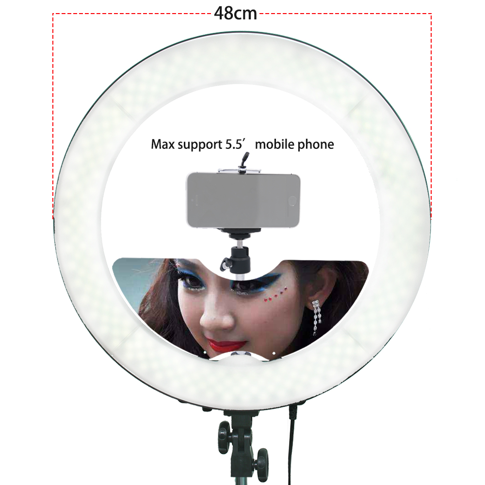 engaging Camera Fotostudio Telefoonvideo 55W 240PCS LED-ringlamp - Camera en foto - Foto 3
