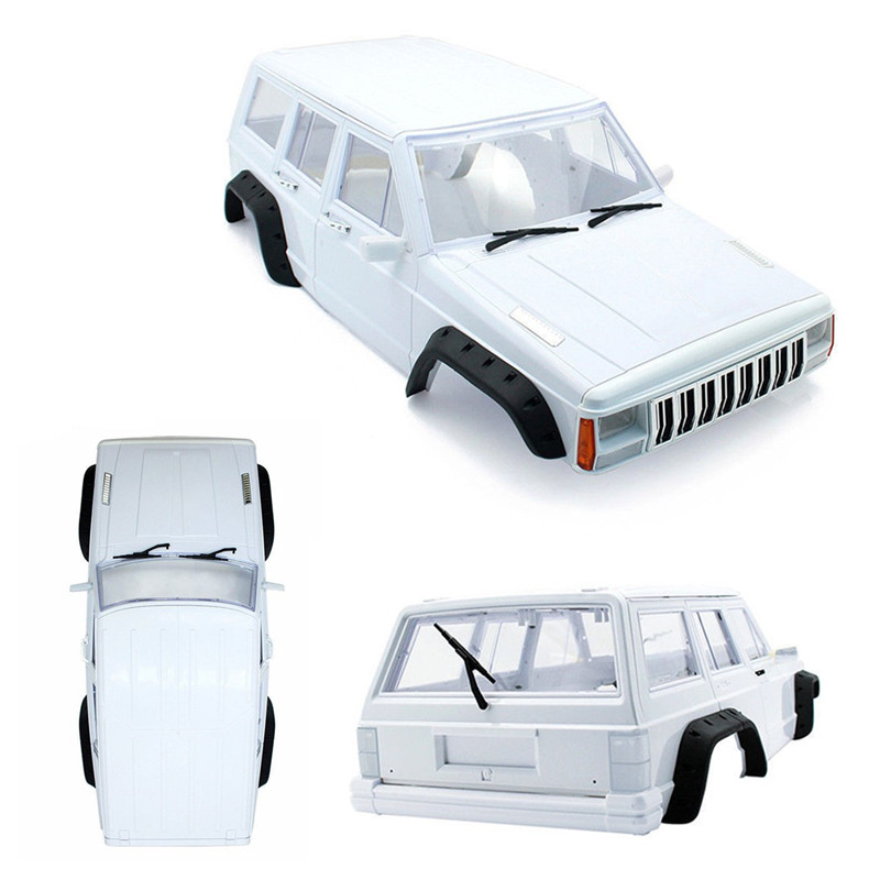 1:10 RC Car 313mm Body Shell Hard Plastic Cherokee XJ SCX10 RC4WD ABS 1 10 rc car 313mm body shell hard plastic cherokee xj scx10 rc4wd abs