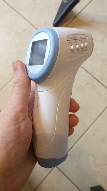 2017 Muti-fuction Bebek/Yetişkin Dijital Termomete Kızılötesi Termometre Alın Vücut Gun temassız Sıcaklık Ölçüm Cihazı