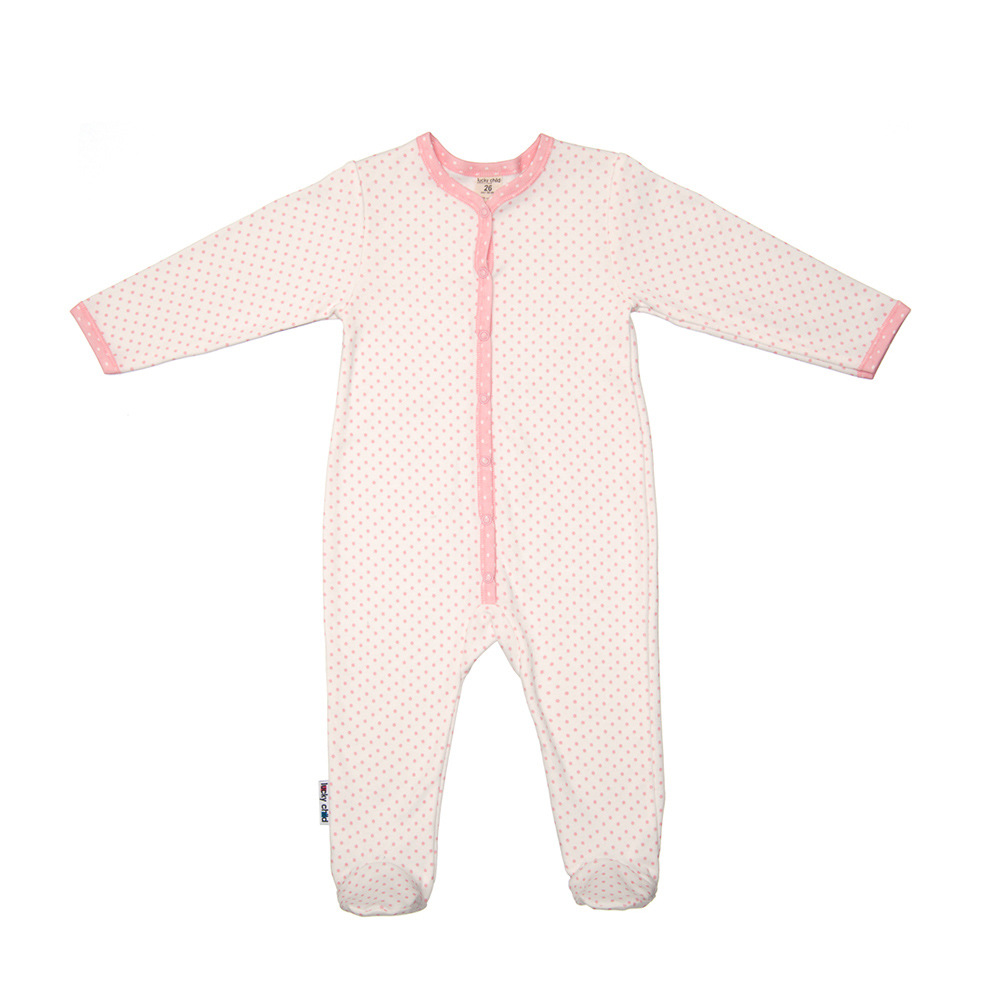 Jumpsuit Lucky Child for girls A2-103 Children's clothes kids girls frill trim solid jumpsuit