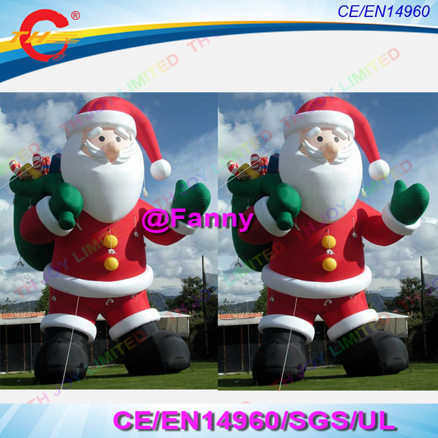 2018 new design giant outdoor christmas decoration santa inflatable santa clausgiant inflatable christmas old