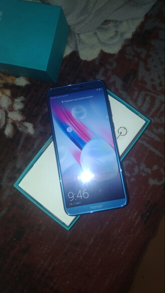 """Global Rom Huawei Honor 9 Lite 5.65"""" Full View Screen 2160*1080Pix Android 8.0 Smartphone Octa Core 4 Cameras 13MP mobile phone"""