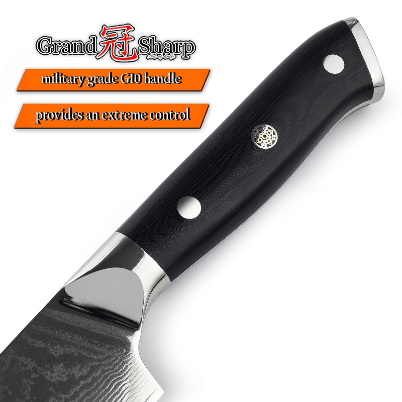 Damascus Kitchen Knives Sets 3 pcs Kitchen Knife Set Chef Kiritsuke Boning vg10 Japanese Steel Damascus Knife Pro Cooking Tools