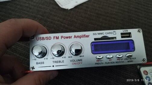 аудио усиления; Входное напряжение:: 12 В постоянного тока; доска MP3-плеер ;