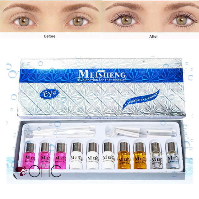 Lash Lift Eyelash Perming Kit False Eyelash Glue Wave Lotion Fake