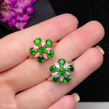 KJJEAXCMY boutique jewelry 925 sterling silver inlaid natural diopside gemstone ring new female models support detection kjjeaxcmy boutique jewelry 925 sterling silver inlaid natural garnet gemstone female ring new support detection