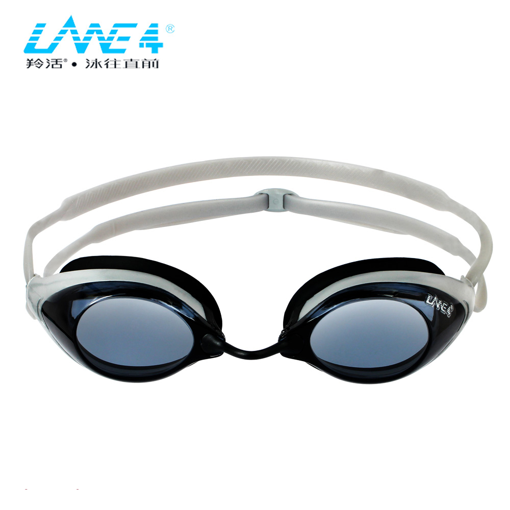 LANE4 Racing Swimming Goggles glasses Waterproof Hydrodynamic Design Anti fog UV Protection for Adults Men Women 329 Eyewear in Swimming Eyewear from Sports Entertainment