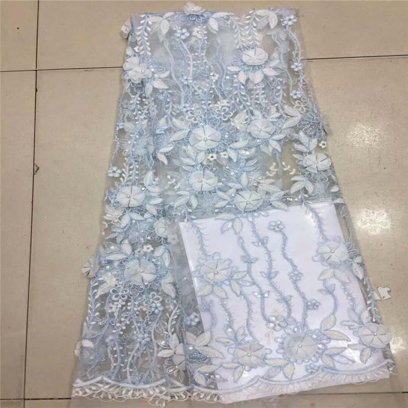 HFX Sequin Dress Tulle Lace African Wedding Net Lace Fabric Latest Bridal Embroidered High Quality French 3d Lace Fabric X1022-4HFX Sequin Dress Tulle Lace African Wedding Net Lace Fabric Latest Bridal Embroidered High Quality French 3d Lace Fabric X1022-4