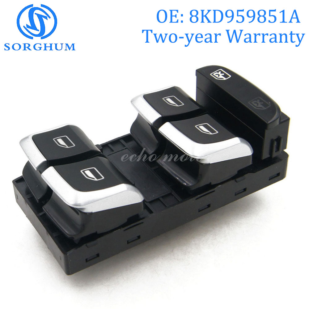 ELECTRIC WINDOW SWITCH BUTTON FOR AUDI A4 8K2 8KH 8K5 B8