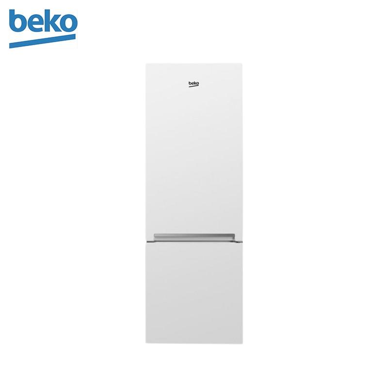 Refrigerator Beko RCSK 250M00W white refrigerator beko rcnk321k00w white
