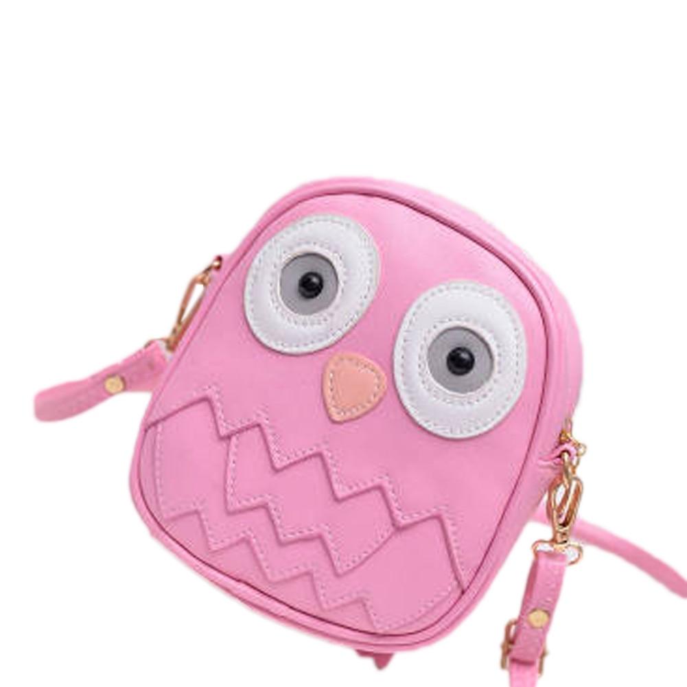 Fashion Women Bag Owl Women Messenger Bags Female Crossbody Shoulder Bag Cartoon Children Girls Bag Wallet Bolsa Feminina