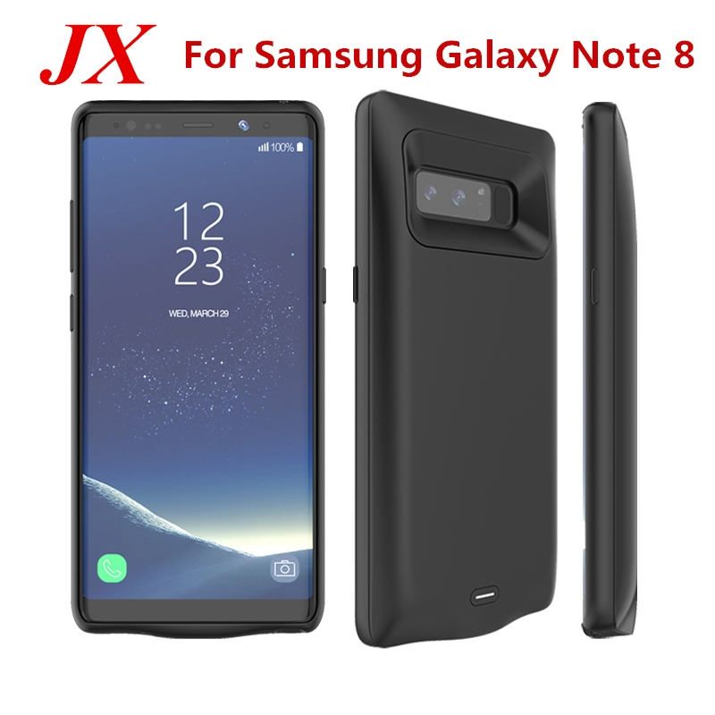 Note 8 Battery Case For Samsung Galaxy Note 8 Battery Case 5500Mah Battery Charger Case Capa Power Bank For Samsung Note 8 Case
