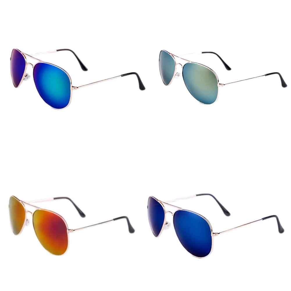 Fashion Sunglasses Women Men Colorful Reflective bright color sunglasses mirror Glasses Male Polarized Sun Glasses 2018