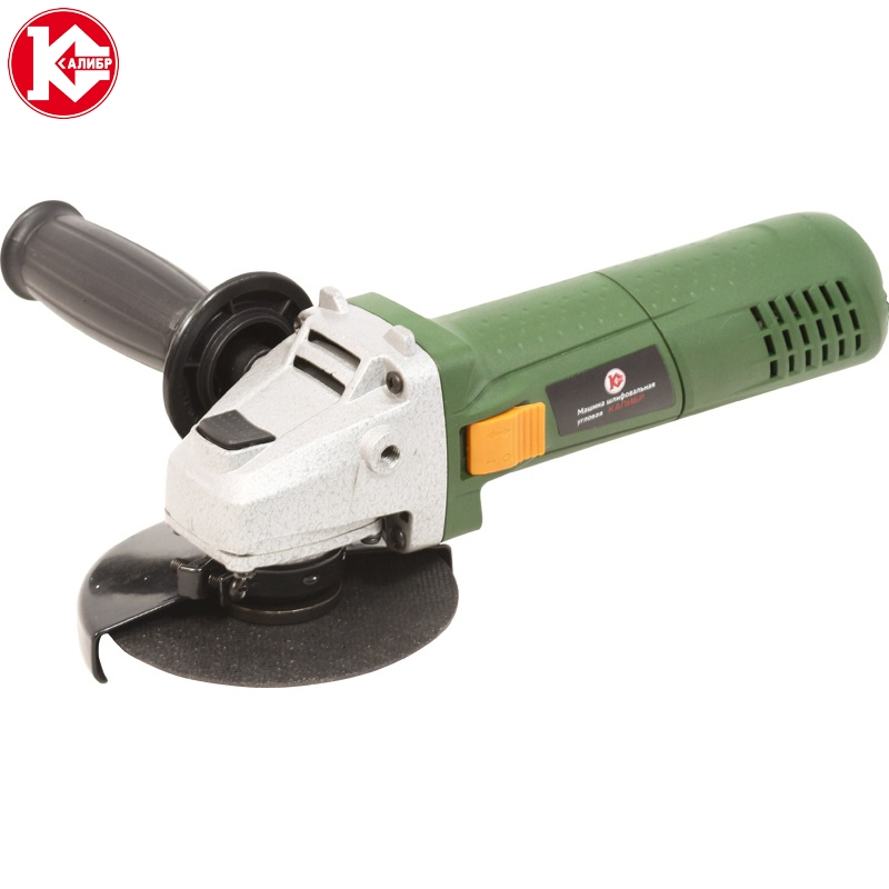 Electric tool Angle grinder Kalibr MSHU-115/750, disc 115mm, power 750W, angular power tool for grinding and cutting metall talentool 25mm diamond cutting cut off blade wheel disc rotary tool for dremel with 2pcs mandrel