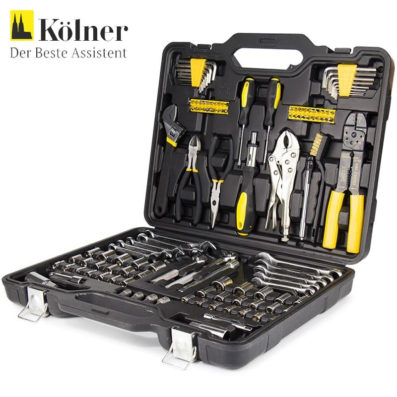 Set of hand tools Kolner KTS 123 hideep toliet bidet hand held portable bidet sprayer shattaf toilet shower spray set tap