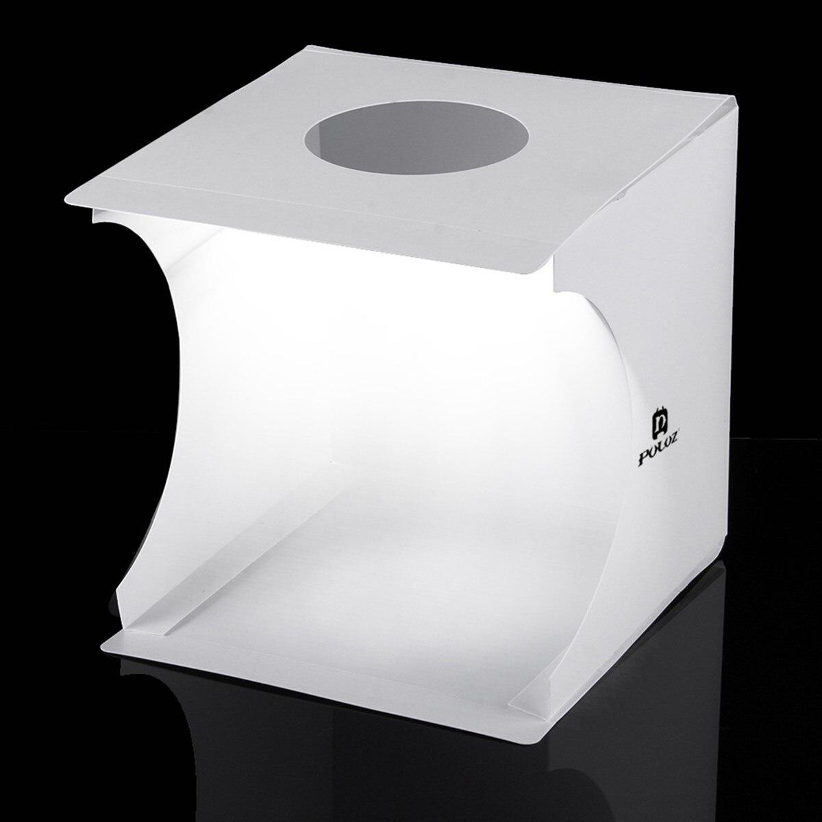 2017 neue Ankunft 20 cm Licht Zimmer Fotostudio Fotografie Schießen Tent Kit Hintergrund Cube Box Foto Studio