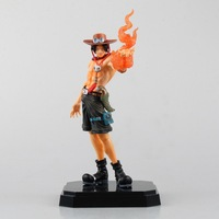 HKXZM Anime 24CM One Piece Portgas D Ace PVC Figure Collection Model Toy Gift