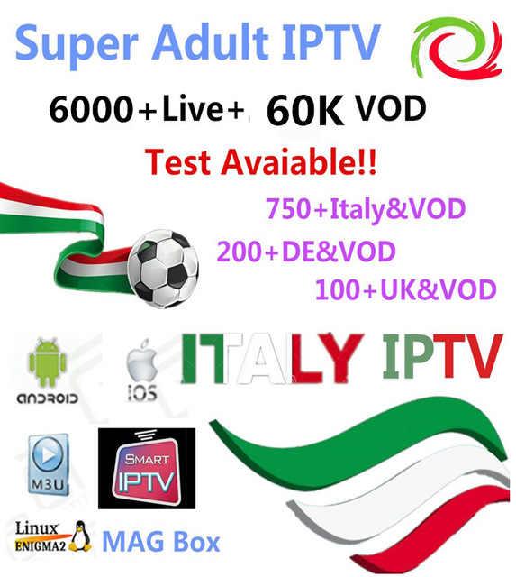 Супер европа италия IP ТВ 1 год подписки main для итальянский Германия Великобритания Мальта турецкий Italia албанский Android ТВ коробка Enigma2 m3u