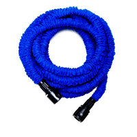2,5 m watering latex drip irrigation Stretched Expandable Supplies Water Hose with Spray Gun for home garden 7.5 m Gess