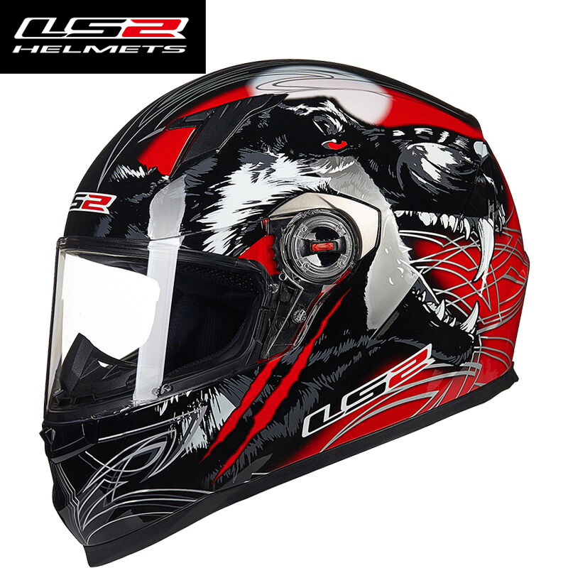 Escritório authoritied LS2 FF358 Completa rosto capacete de moto rcycle alta qualidade removível & lavável revestimento interno raing LS2 capacetes de moto