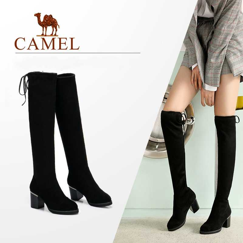 5a771d9c98 ... CAMEL Women Shose Winter Over The Knee High Boots Stretch Fabric Long Thigh  Boots Microfiber Leather. RELATED PRODUCTS. CAMEL Shoes Woman ...
