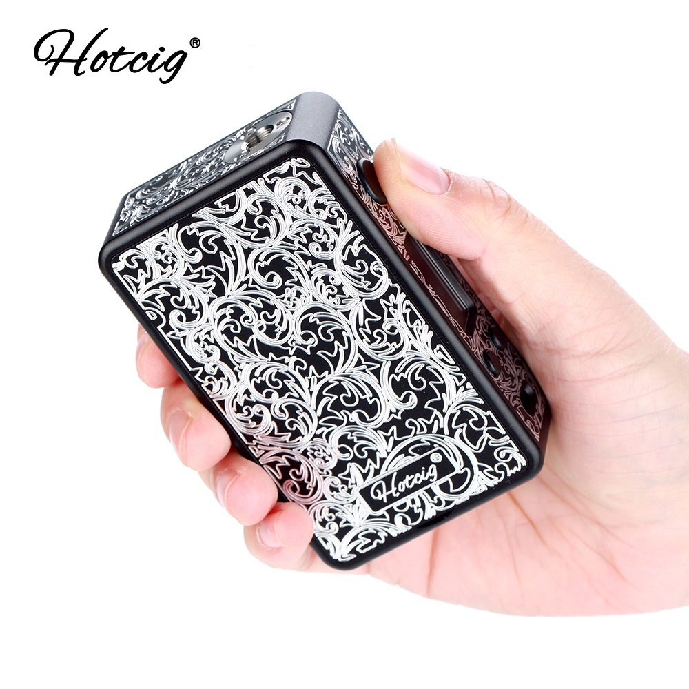 New Original Hotcig R150S TC Box MOD with 0 96 inch Colorful Screen Waterproof HM Chip