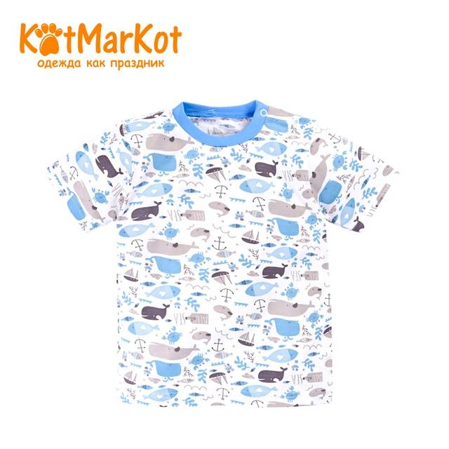 ДетскаяфутболкадлямальчиковKotmarkot7758