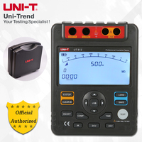 UNI T UT512 Insulation Resistance Tester 2500V Megohm Data Storage Analog Bar Graph DAR USB Data