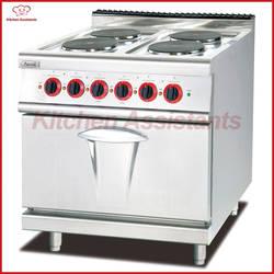 EH887B электрическая плита с 4 горячая пластина сочетании с печь для коммерческого приготовления диапазон