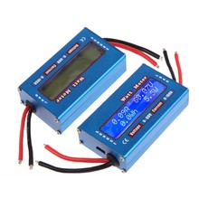 цена на High precision Power WATT Meter DC 60V 0-100A Current LCD Display Accuracy Analyser digital Battery Balancer Charger RC Tools