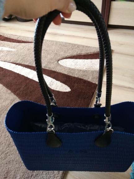 nieuwe sliver en zwarte kleur handvat voor obag Tassen Schouder Handtas druppels voor O Bag 70 cm 65 cm handvat photo review