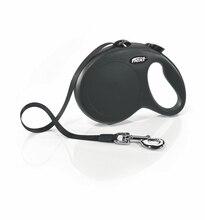 Поводок-рулетка для собак Flexi New Classic L  (до 50 кг, 5 метров, Лента)