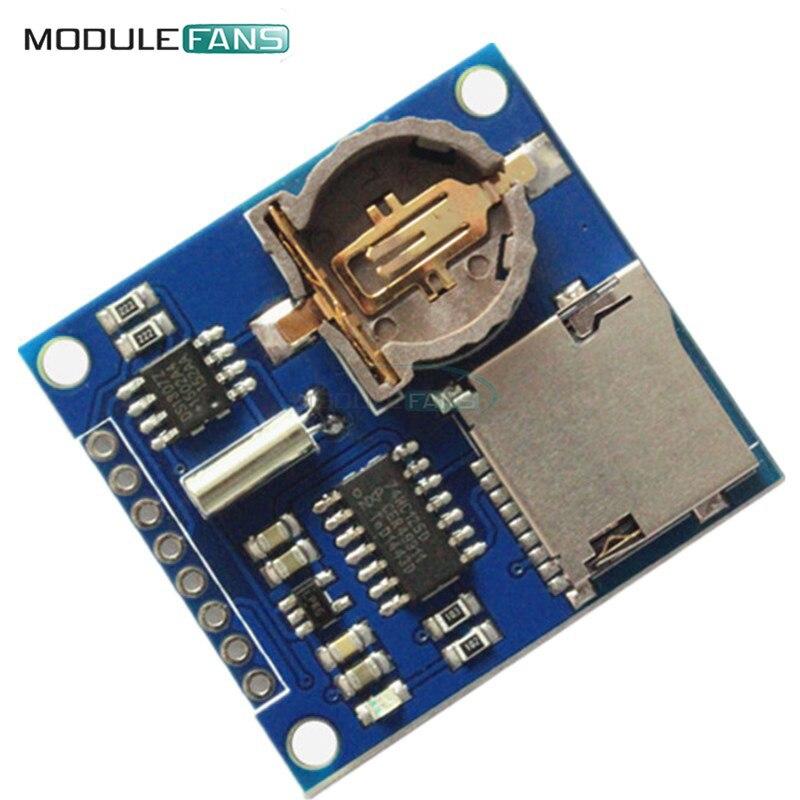 Mini data logger module logging shield for arduino
