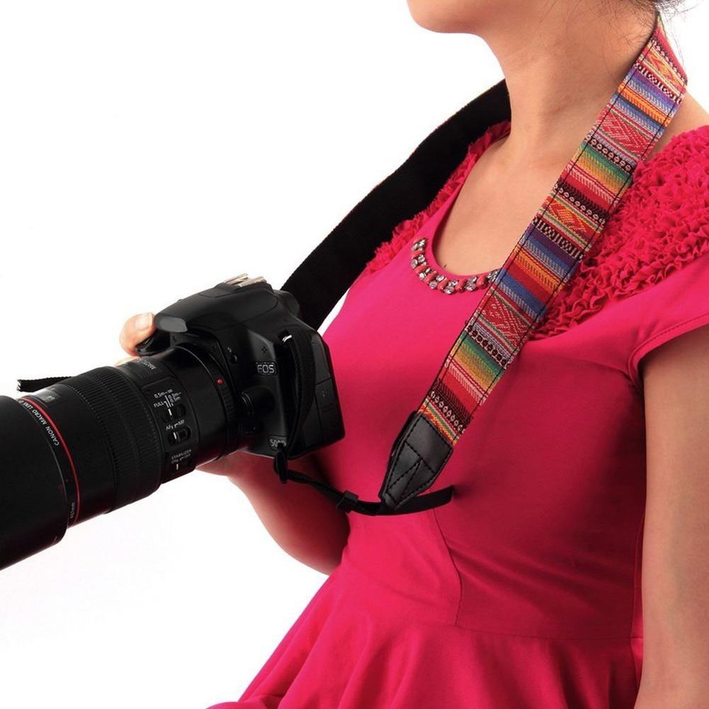 Vintage Camera Shoulder Neck Strap for Nikon Canon Sony Panasonic SLR DSLR