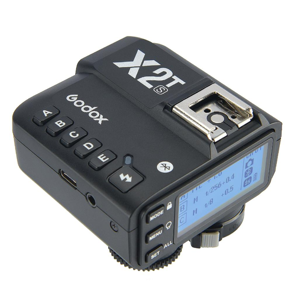Godox x2t X2T-C X2T-N X2T-S X2T-F X2T-O X2T-P TTL Déclencheur Flash Sans Fil pour Canon Nikon Appareil Photo Sony Connexion Bluetooth HSS