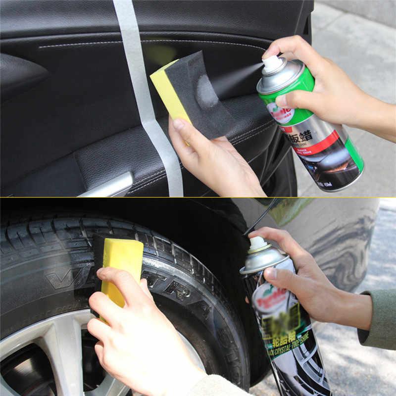 1 قطعة PE متعددة الوظائف الصبح تنظيف أداة الزاوية مسح واضح المتبقية الشمع الشمع سيارة الداخلية تنظيف اكسسوارات السيارات فرشاة سبونغ