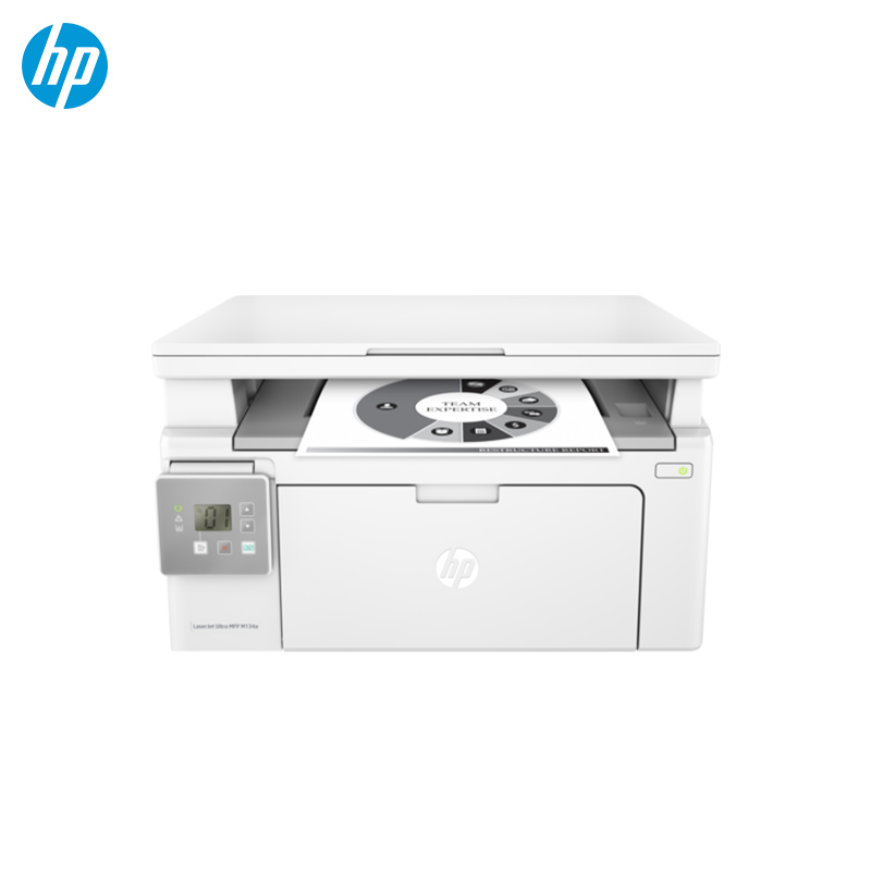 MFD HP LaserJet Ultra M134a Printers thermal printer hprt new pos printers 80mm receipt small ticket barcode printers lpq80 free shipping